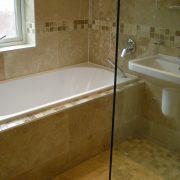 high quality tiled bathroom demonstrating top craftsmanship
